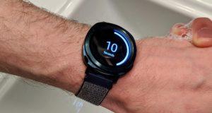 Samsung smartwach lavare le mani