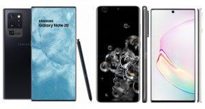 Samsung Galaxy Note 20+ concept