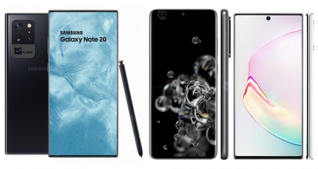 Samsung Galaxy Note 20+ concept