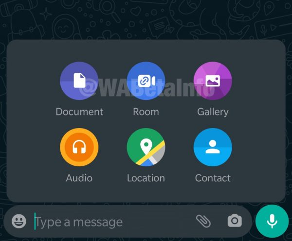 WhatsApp integrazione Messegner Rooms