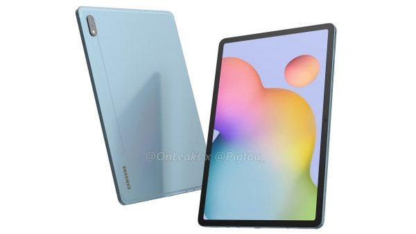 Samsung Galaxy Tab S7 render