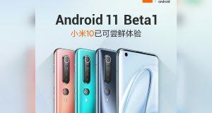 Xiaomi Mi 10 Android 11 Beta 1