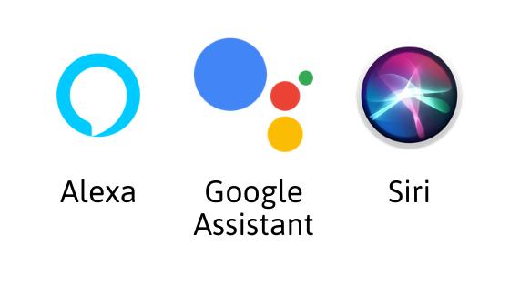 Alexa Google Assistant Siri