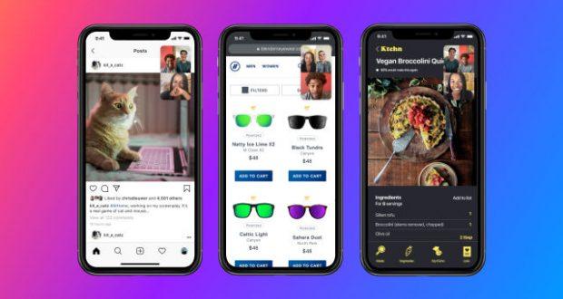 Facebook Messenger condivisione schermo Android iOS