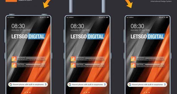 Xiaomi brevetta uno smartphone con doppio slot per auricolari TWS (2)