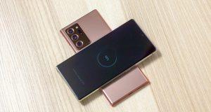 Samsung Galaxy Note20 Ultra ricarica wireless inversa aggiornamenti