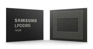 Samsung RAM LPDDR5 16 GB EUV
