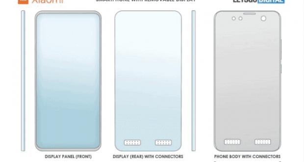 Xiaomi brevetto smartphone display modulare