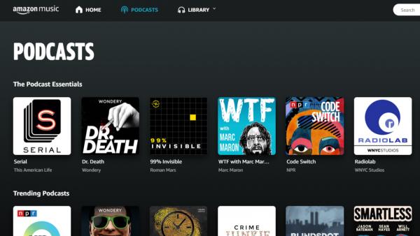 Amazon Music podcast