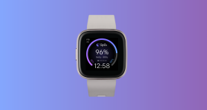 Fitbit watch face SpO2