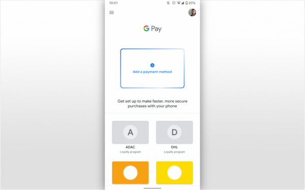 Google Pay nuova UI