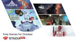 Google Stadia Pro giochi gratis ottobre 2020