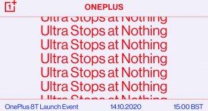 OnePlus 8T presentazione