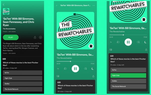 Spotify sondaggi podcast