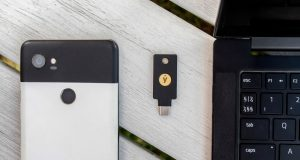 Yubikey 5C NFC account Google