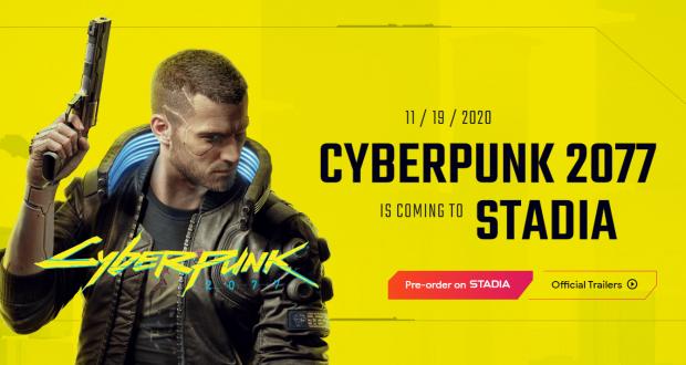 Cyberpunk 2077 Google Stadia
