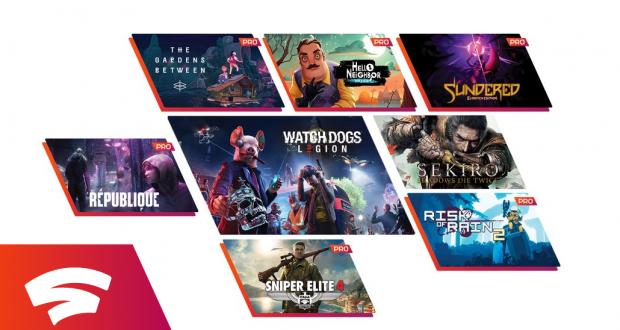 nuovi giochi gratis di Google Stadia Pro a novembre 2020