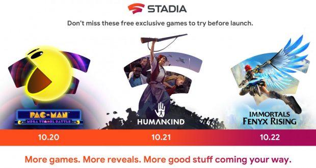 Google Stadia giochi demo