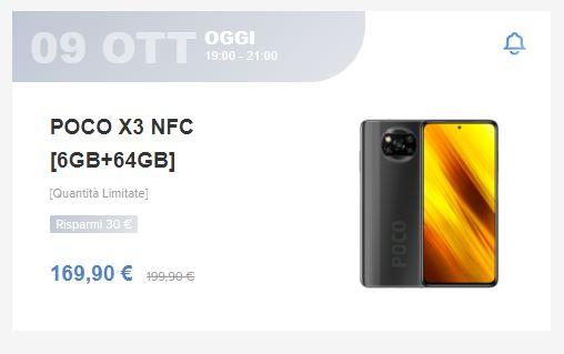 POCO X3 NFC super offerta
