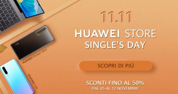 Huawei Store offerte Single's Day 11-11 2020