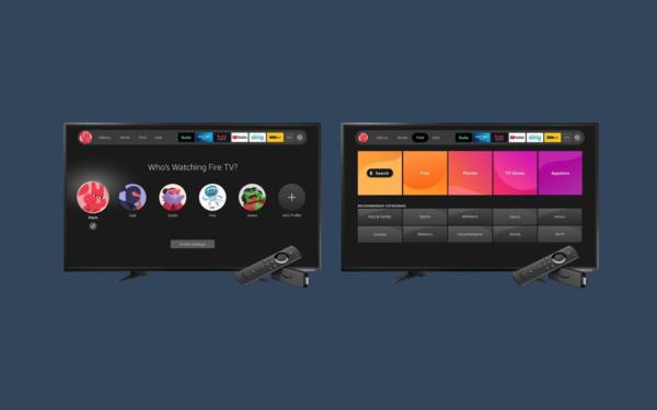 Amazon Fire Tv UI novità