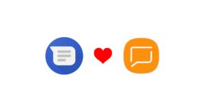 Samsung Messaggi Google RCS Chat