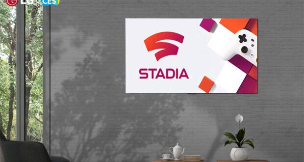 Google Stadia LG TV 2021