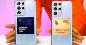 Samsung Galaxy S21 Samsung-Exynos-2100-Vs-Qualcomm-Snapdragon-888