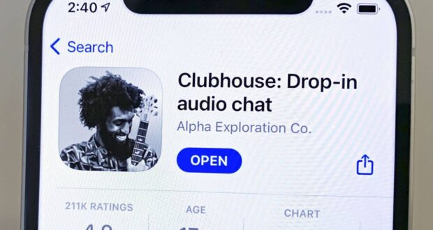 Clubhouse Facebook clone