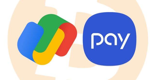 Google Pay e Samsung Pay