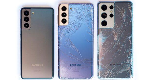 Samsung Galaxy S21 drop test