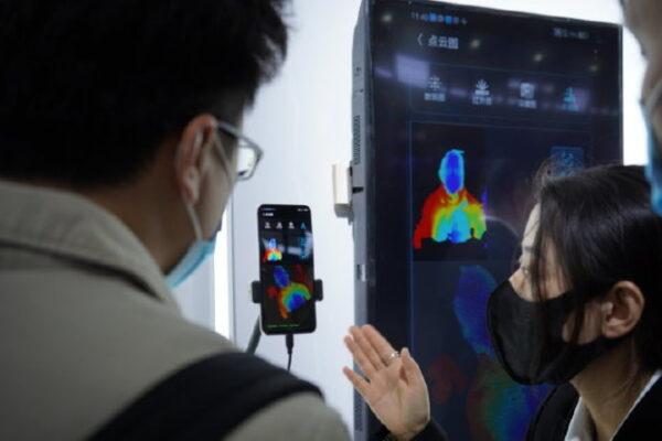 ZTE fotocamera in-display 2° gen infrarossi