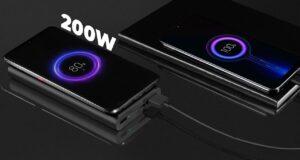 Xiaomi ricarica rapida 200W