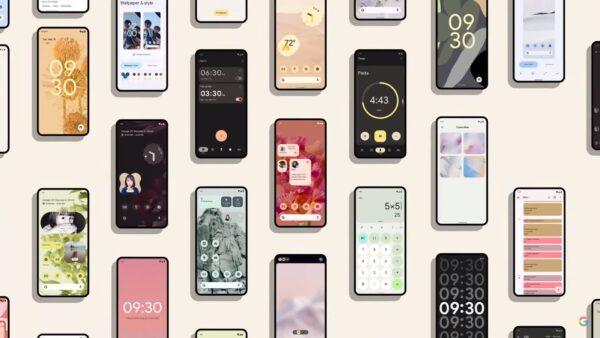 Android 12 novità estetiche