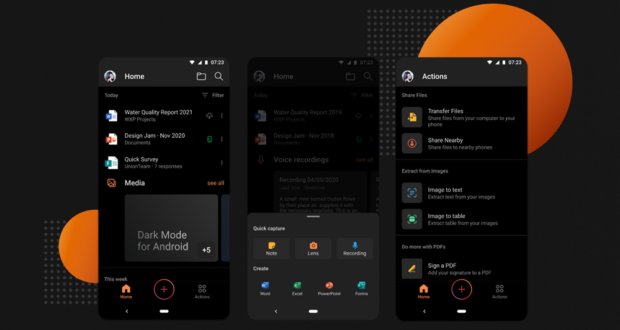 Microsoft Office Dark Mode