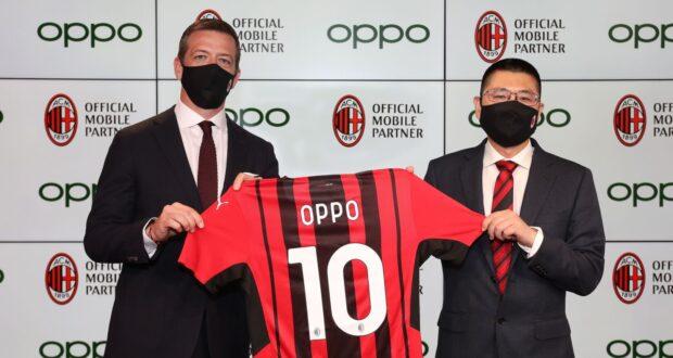 OPPO Italia diventa Official Mobile Partner di AC Milan