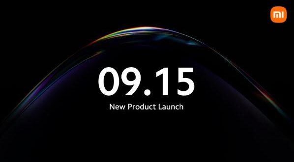 Evento Xiaomi 15 settembre 2021