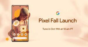 Google Pixel 6 lancio ufficiale 19 ottobre