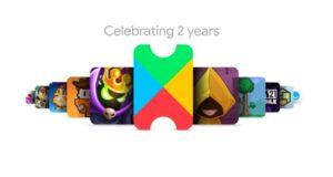 Google Play Pass 2 anni